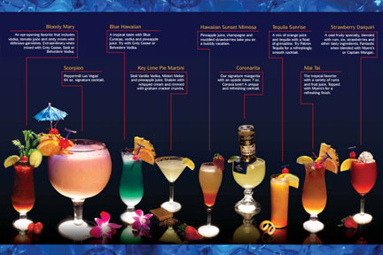 Peppermill Las Vegas Drink Menu